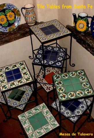 The Iron Frames Are Made In Ciudad Juarez While Hand Painted Talavera Tiles Originate A