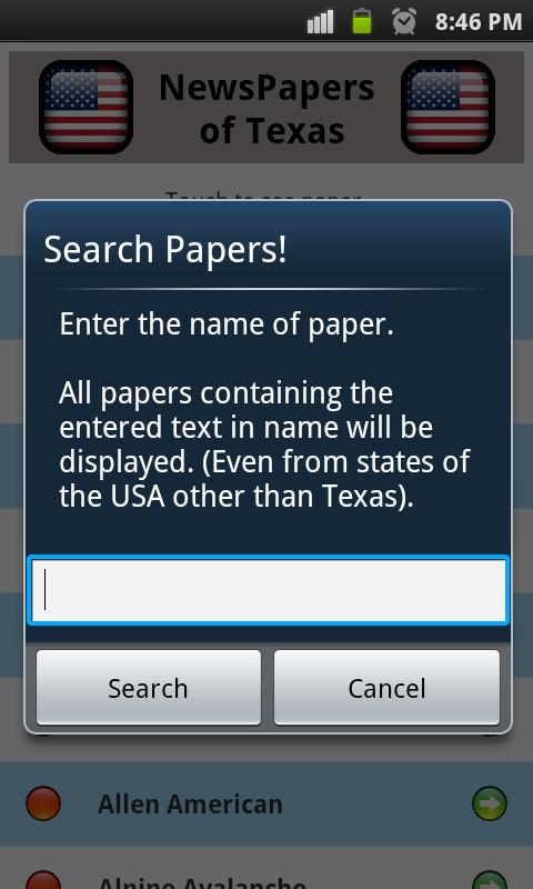 All Newspapers of Texas - Free - screenshot