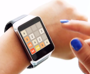 2048 - Android Wear- screenshot thumbnail