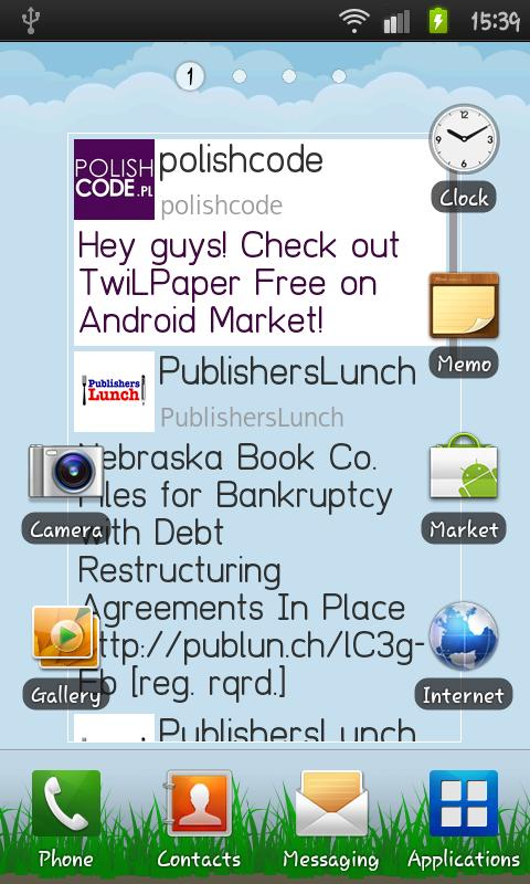 TwiLPaper Free - screenshot