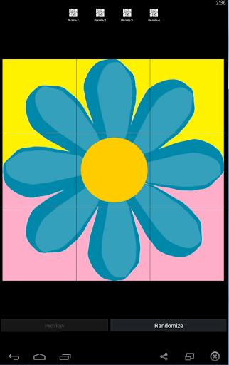 Flower Puzzle for Kids
