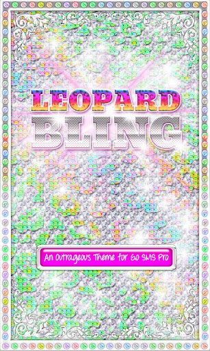 BLING Theme♦RainbowLeopard♦SMS