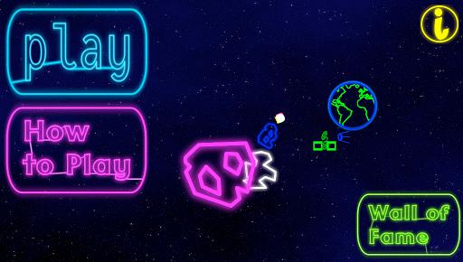 Neon Meteor Attack