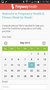 Pregnancy Health & Fitness- screenshot thumbnail