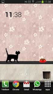 Animated Cat Live Wallpaper- screenshot thumbnail