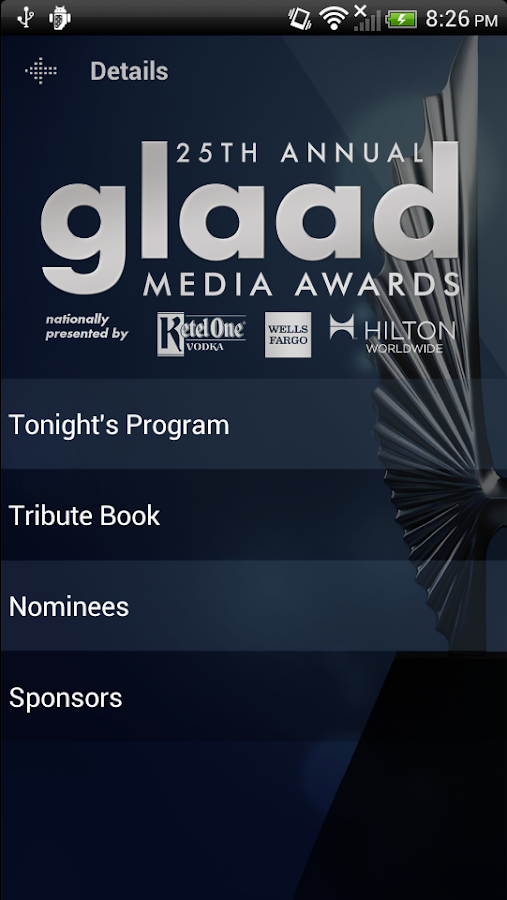 GLAAD Media Awards - screenshot