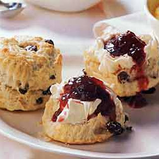 Raisin Scones.