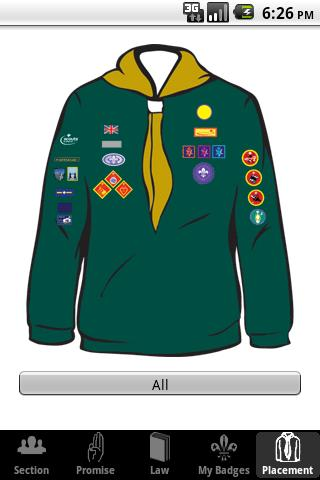 My Badges - UK Scout Programme - screenshot