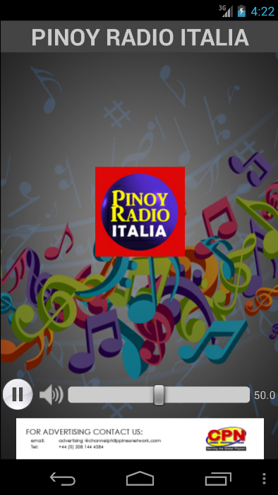 Pinoy Radio Italia- screenshot