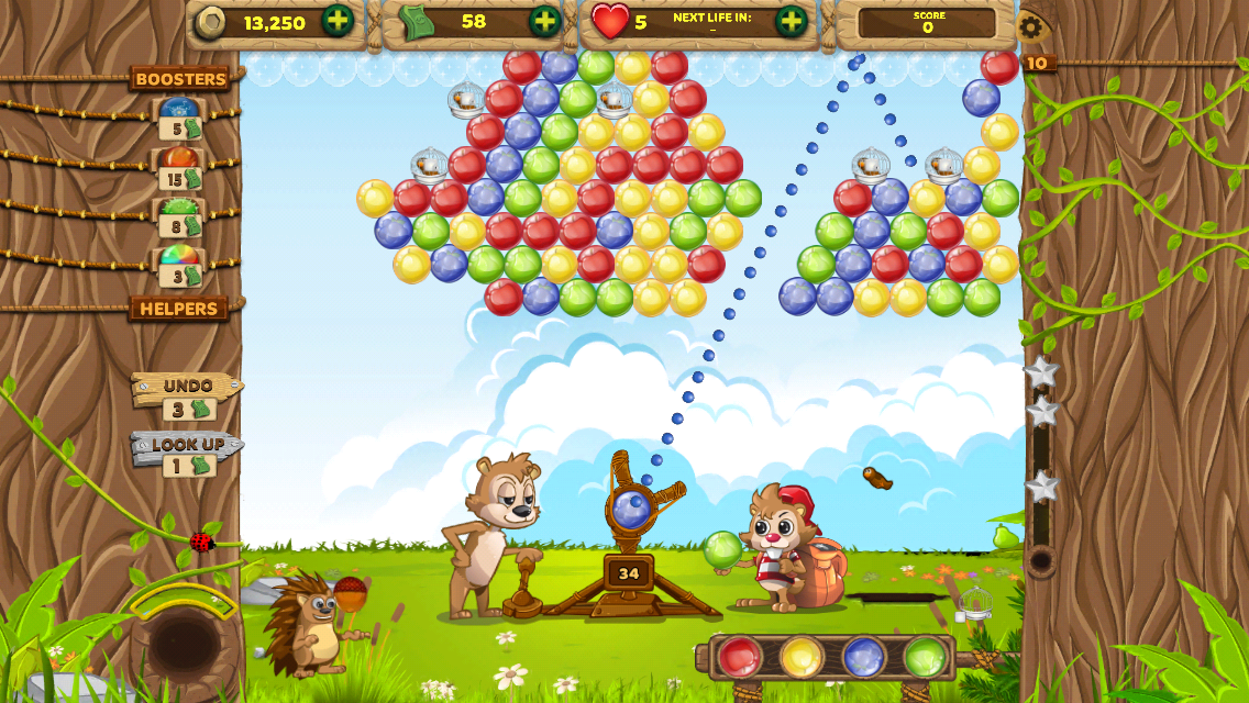Bubble Land- screenshot