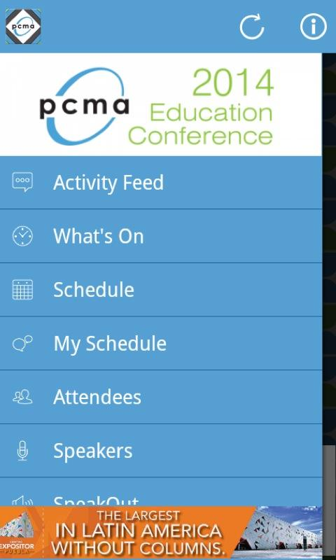 PCMA 2014 Education Conference- screenshot