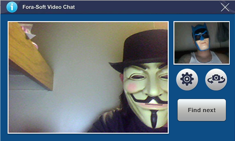 ForaSoft - Video Chat Roulette- screenshot