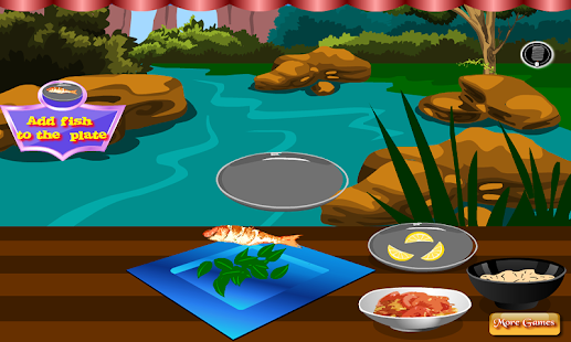 Grilled fish cooking games android apps on google play for Is fish considered meat