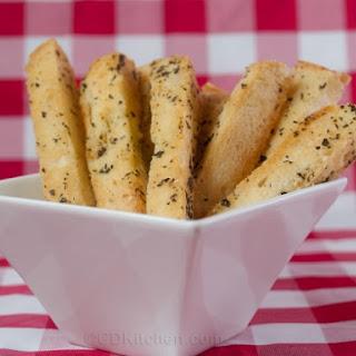 Crispy Crunchy Crouton Sticks