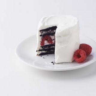 Chocolate Raspberry Icebox Cake.