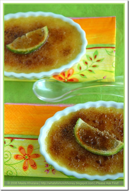 Lime Creme Brulee (04) by MeetaK