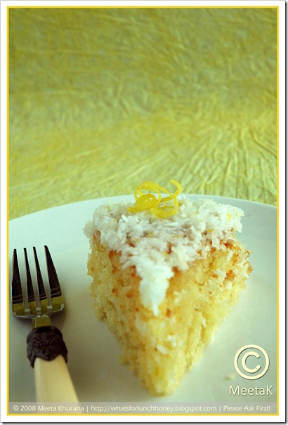 Coconut Lemon Cake (02) by MeetaK