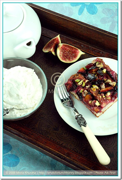 Plum Fig Cake (02) by MeetaK