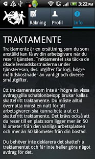 Reseräkning- screenshot thumbnail