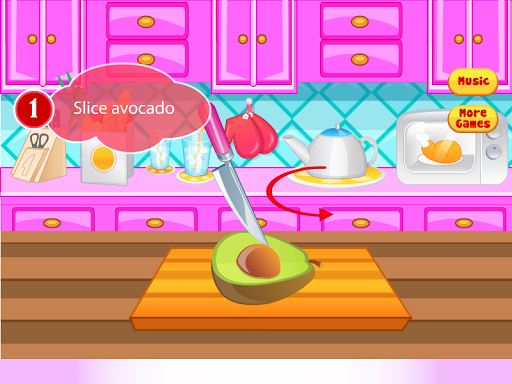 Chicken Burgers Cooking Games