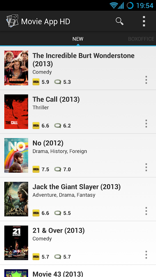 Movie App HD - screenshot