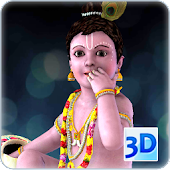 Krishna 3D Live Wallpaper