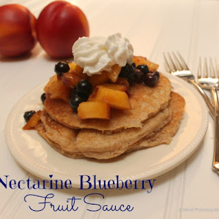 Nectarine and Blueberry Fruit Sauce