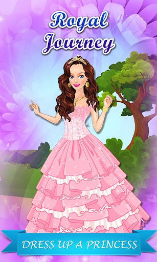 Royal Journey: Girl Dressup