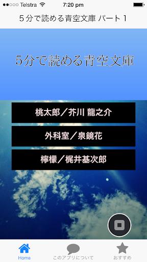 5分で読める青空文庫 パート1