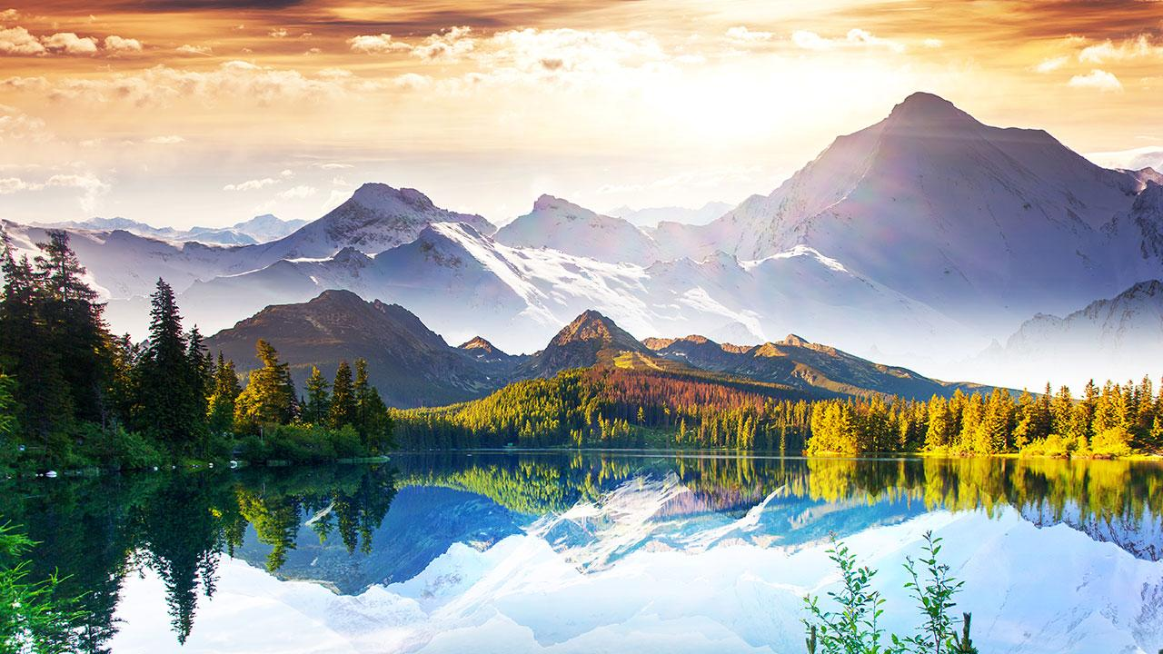 Gmail themes mountains - Mountains Live Wallpaper Screenshot