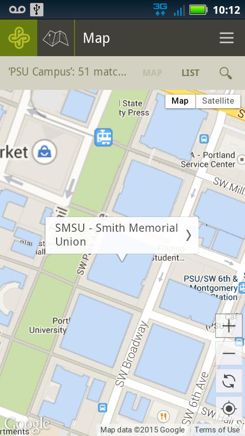 PSU Mobile - screenshot