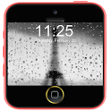 Rainy Paris Lock Screen icon