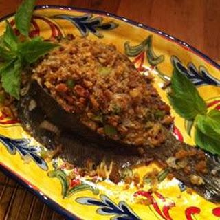 Brian's Easy Stuffed Flounder.