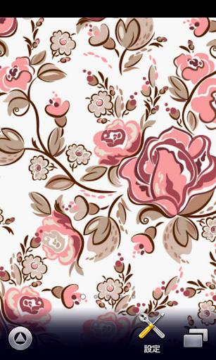 复古花卉壁纸