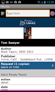 Portage District Library- screenshot thumbnail