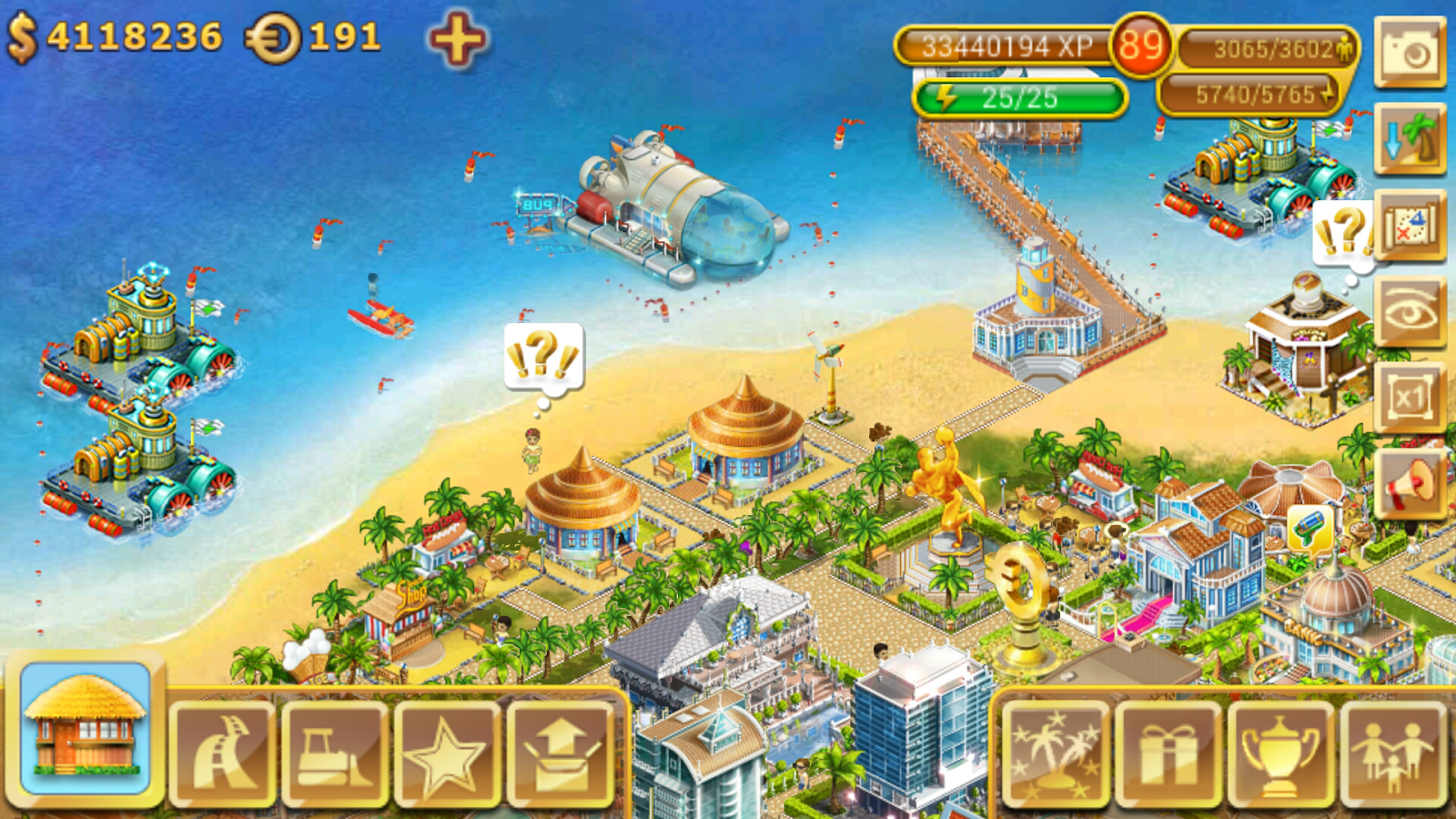 Paradise Island- screenshot