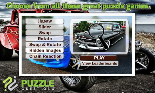Free Car Puzzle Games