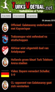 Turksvoetbal.net - screenshot thumbnail