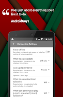 Screenshot of Player FM Podcast App