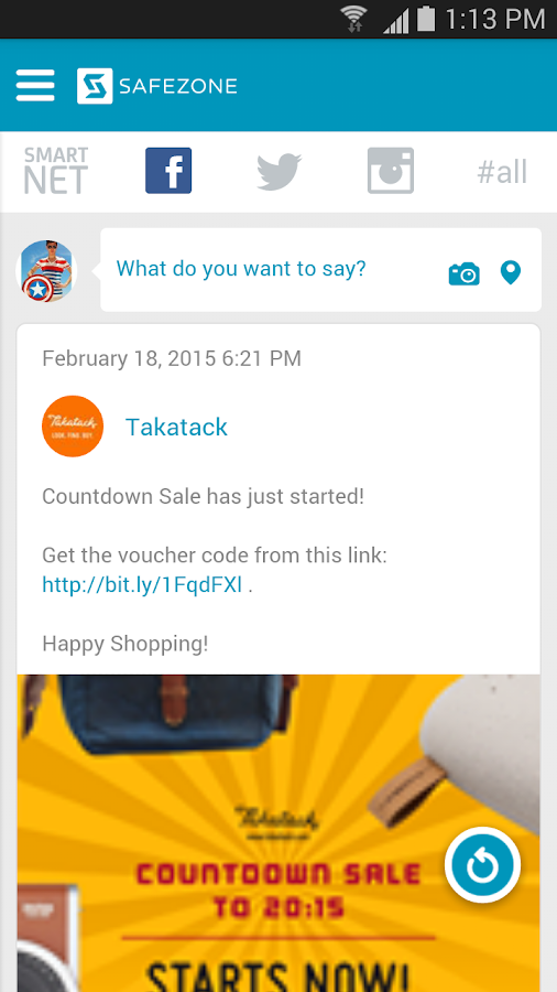 SafeZone- screenshot