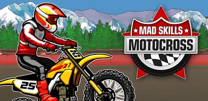Mad Skills Motocross - скачать лучший мотокросс на android