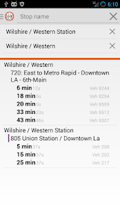 LA Metro Companion- Bus + Rail- screenshot thumbnail