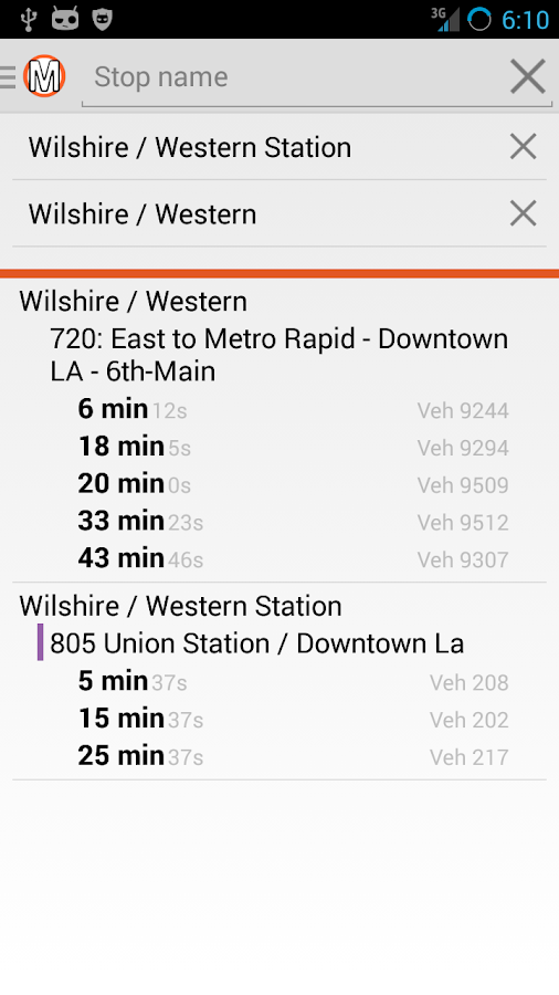 LA Metro Companion- Bus + Rail- screenshot