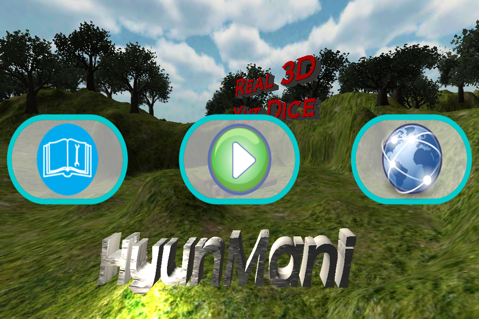 Real 3D Yut Dice- screenshot