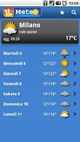 Screenshot of ilMeteo Weather 2011