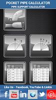 Screenshot of Pipe Support Calculator