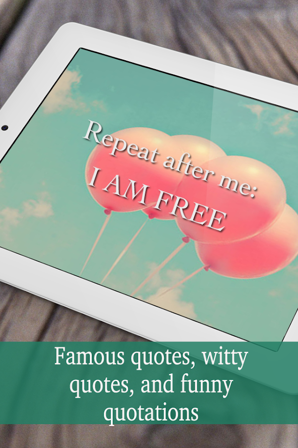 Quotes and quotations- screenshot