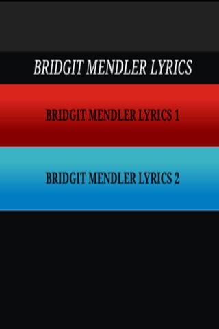 Bridgit Mendler-Just The Lyric