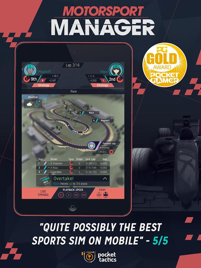 Motorsport Manager - screenshot