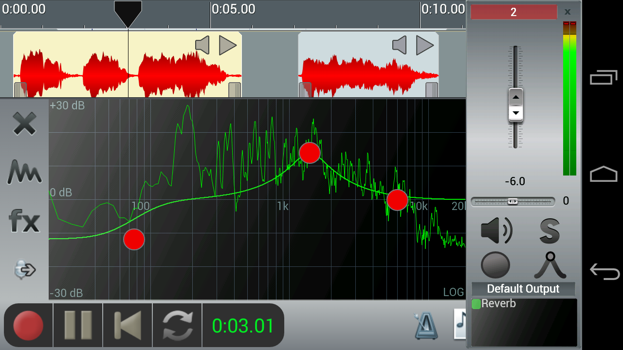 n-Track Studio Multitrack Daw - screenshot